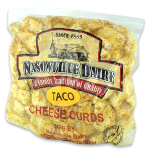 Taco Cheese Curds