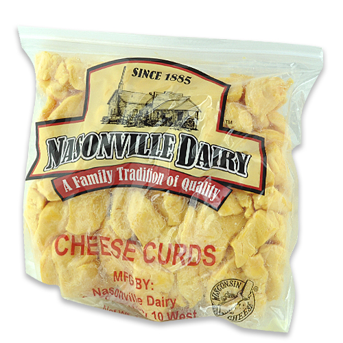 Colored Cheese Curd Nasonville Dairy Part 1