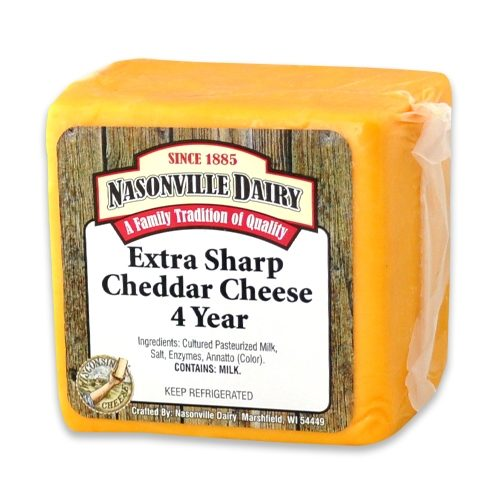 Extra Sharp Cheddar Cheese 4 Year