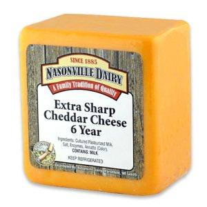 Extra Sharp Cheddar Aged 6 Years