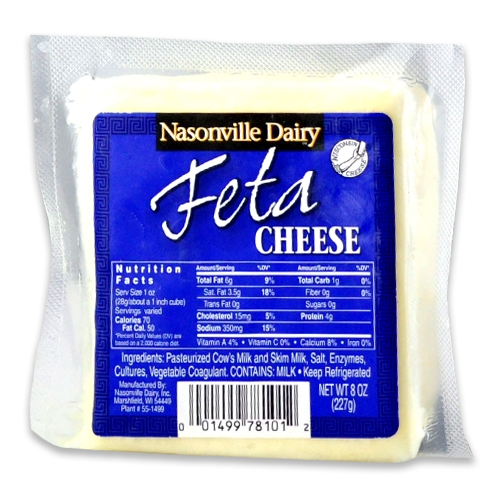 Plain/Traditional Feta Cheese