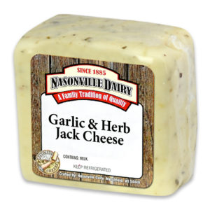 Garlic & Herb Jack Cheese