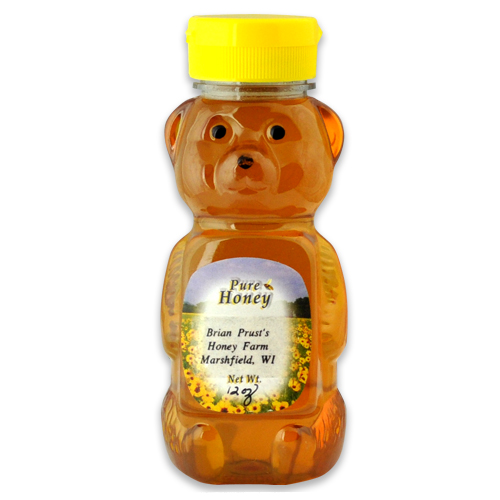 Pure Honey: 12 oz.