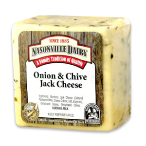 Onion & Chive Jack Cheese