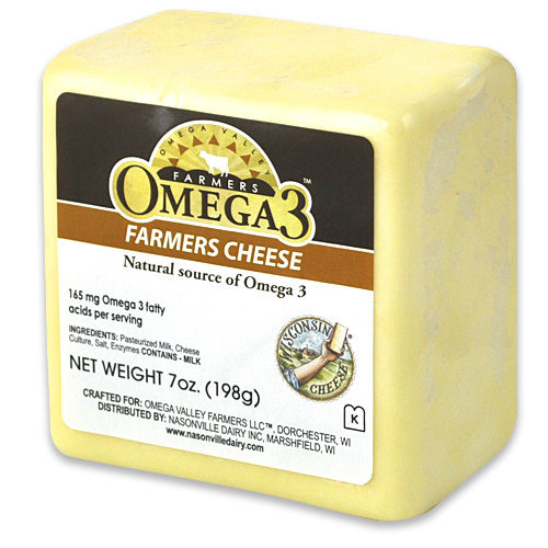 Omega 3 Farmer's Cheese
