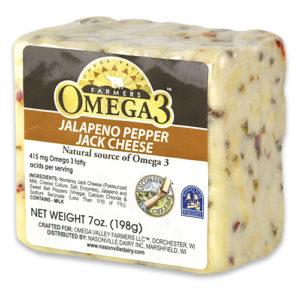 Omega 3 Jalapeno Pepper Jack