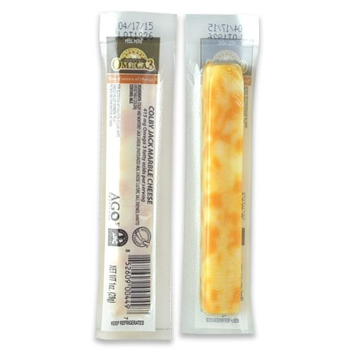 Omega 3 Colby Jack Snack Sticks