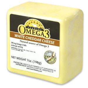 Omega 3 White Cheddar