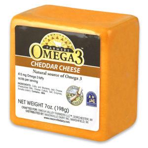 Omega 3 Yellow Cheddar