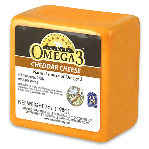 Omega 3 Yellow Cheddar