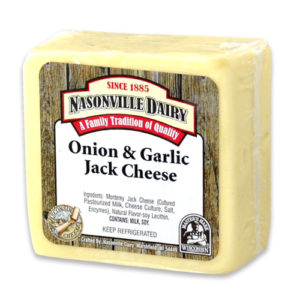 Onion & Garlic Jack Cheese