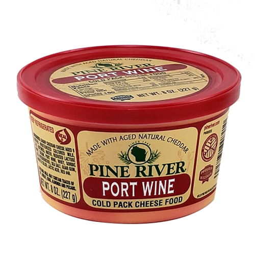 Pine River Port Wine Cheese Spread