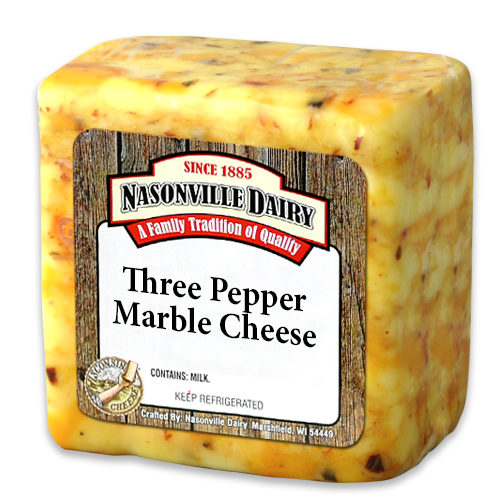 Three Pepper Marble Cheese