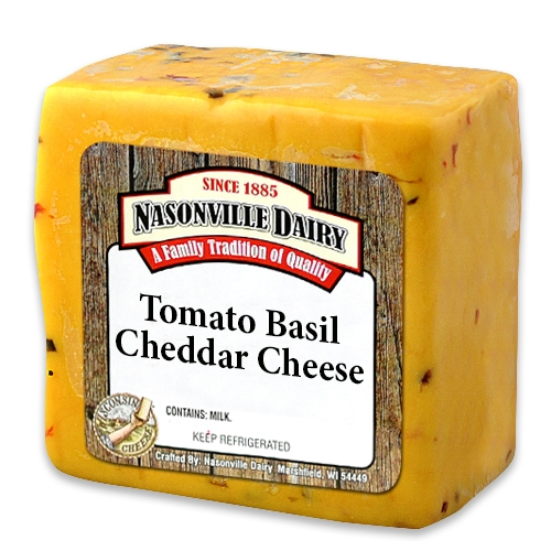 Tomato Basil Cheddar Cheese