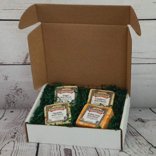 Gift box of 4 cheeses
