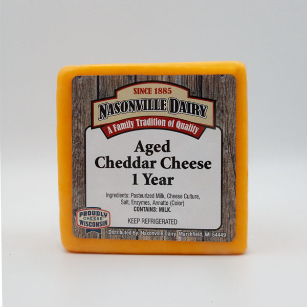 Aged Cheddar Cheese 1 Year