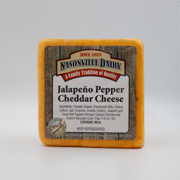 Jalapeno Pepper Cheddar Cheese
