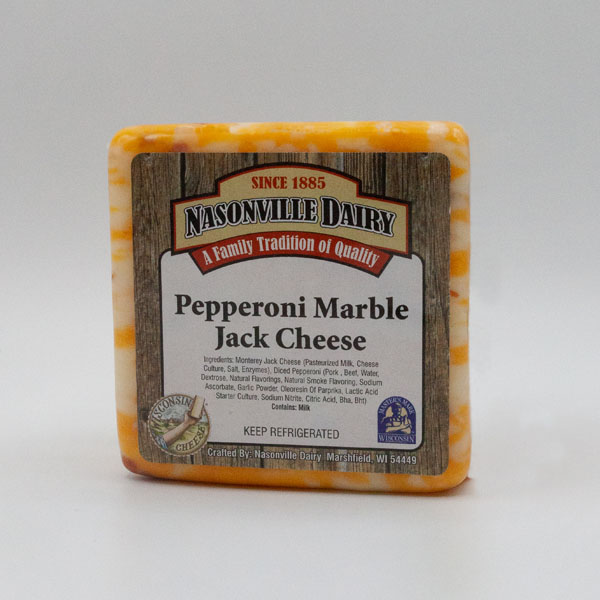 Pepperoni Marble Jack Cheese