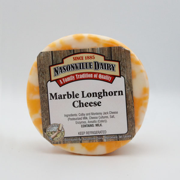 Marble Longhorn Cheese