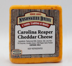 carolina reaper cheddar cheese