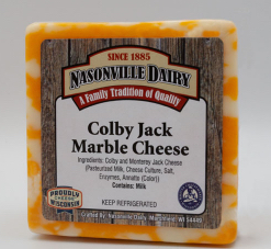 Colby jack marble cheese