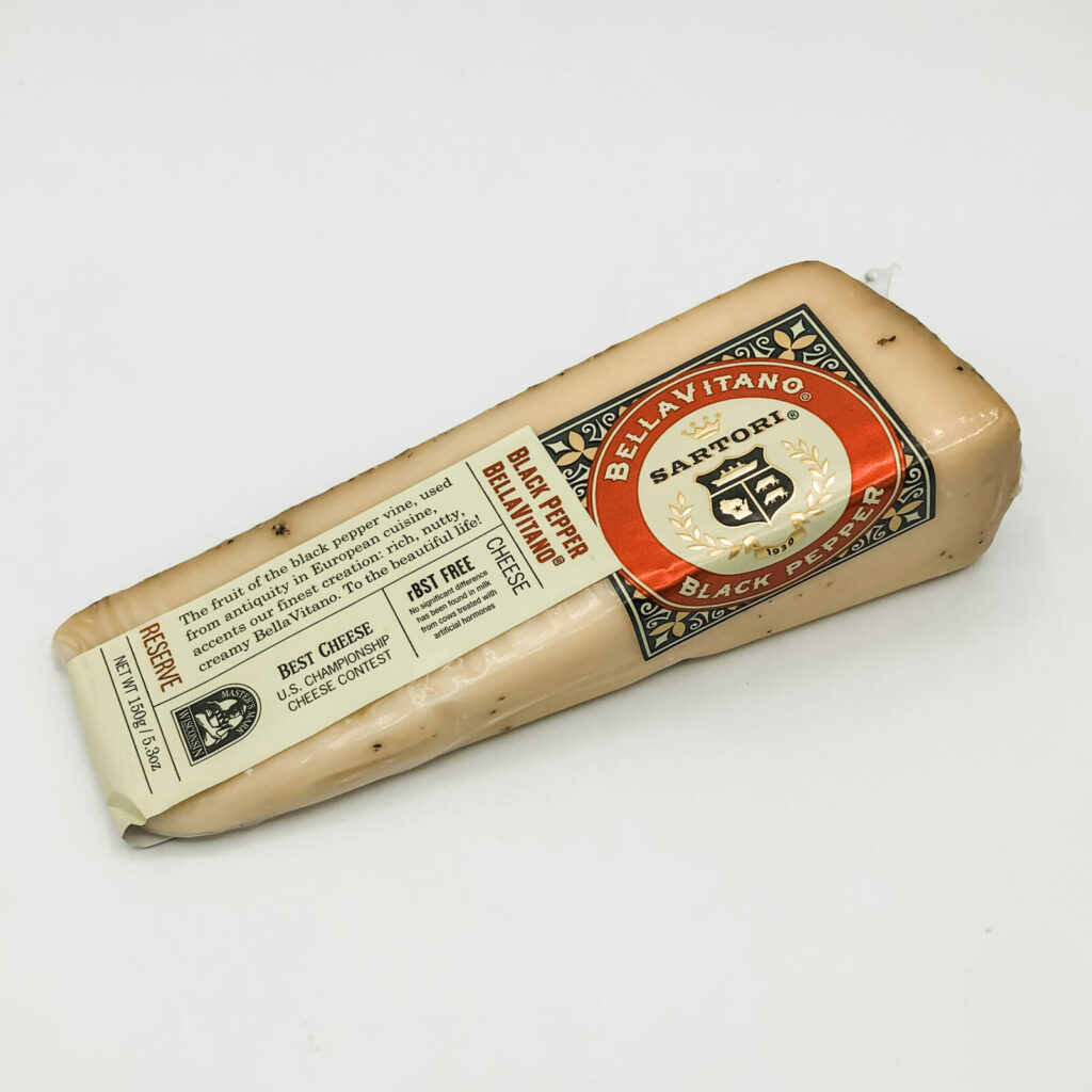 BellaVitano Black Pepper Cheese 5.3 Oz