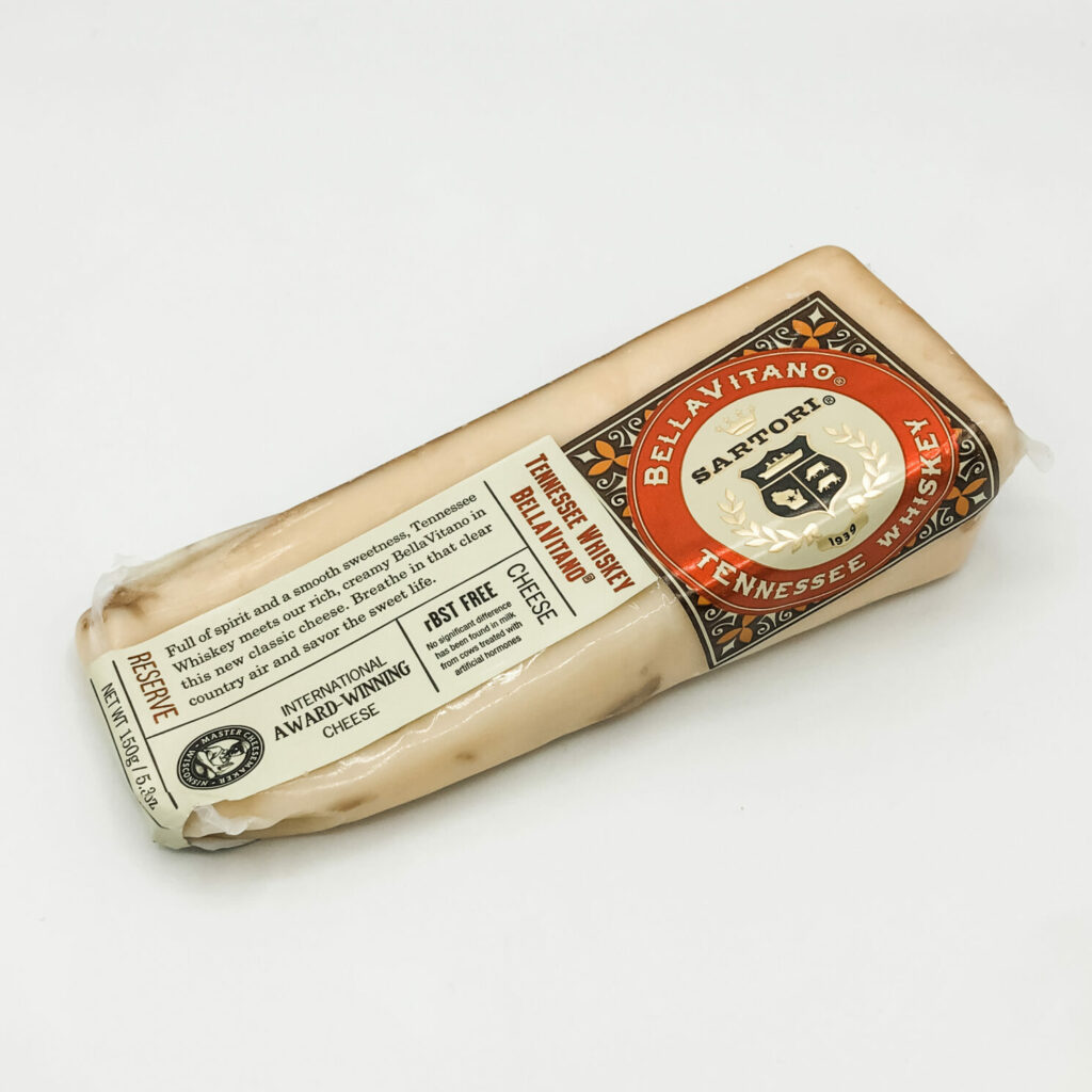 BellaVitano Tennessee Whiskey Cheese 5.3 Oz